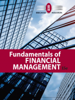 Fundamentals of Financial Management 15e