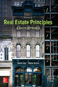 Real Estate Principles A Value Approach 5th edition